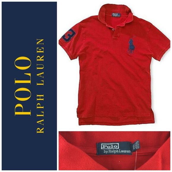 NWT Polo Ralph Lauren Big Pony Sz XXL Red New